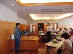 東京電力福島第1発電所事故の説明を受ける